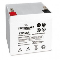 BATTERIA TECNOWARE 12V 5.0Ah EACPE12V05ATWB