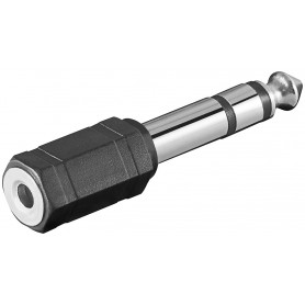 Adattatore Audio 6.3mm Maschio a 3.5mm Femmina Stereo