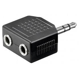 Adattatore Audio 3.5mm Stereo 1M/2F