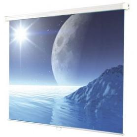 SCHERMO PROIEZIONE A MOLLA ATLANTIS FASTROLL 180 180x180cm 1:1 Tela da proiezione MATT WHITE, Sistema di riavvolgimento a molla