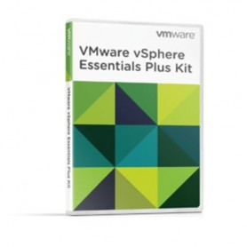 SOFTWARE VMware vSphere 6 Essentials PLUS Kit For 3 Hosts (Max 2 processors per host) - VS6-ESP-KIT-C
