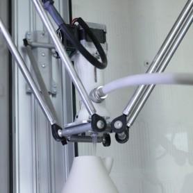 ACCESSORI STAMPANTE 3D WASP Estrusore Argilla Kit 2.0 (comprende 10 Kg. pasta porcellana) Degasatore, possibilità di retrazione