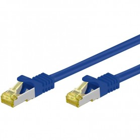 Cavo Patch Cat.7 Plug RJ45 6A S/FTP LSZH 1m Blu