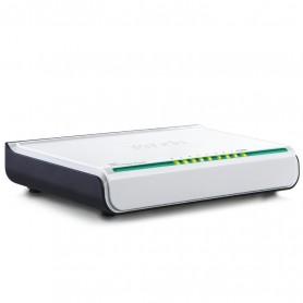 Switch Ethernet Desktop Compatto 8 Porte 10/100 Mbps Bianco