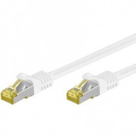 Cavo Patch Cat.7 Plug RJ45 6A S/FTP LSZH 1m Bianco