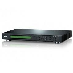 Switch Matrix 4x4 DVI con VideoWall e Scaler