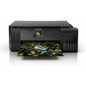 MULTIFUNZIONE EPSON EcoTank ET-7700 A4 32/32PPM 100FF DUPLEX WiFi USB Epson Connect Display LCD Doppio kit di Flaconi