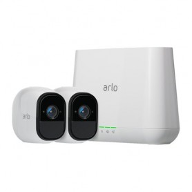KIT VIDEO MONITORING ARLO PRO HD NETGEAR con 2videocamere Day/Night vision Senza fili (con batteria) Risoluz max 1280x720p, CMOS