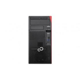 Fujitsu ESPRIMO P557 3.9GHz i3-7100 Scrivania Nero, Rosso PC