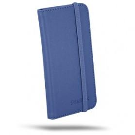 """ATLANTIS COVER UNIVERSALE PER SMARTPHONE 4.5""""/5"""", FLIP COVER, COLORE BLU"""