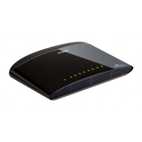 D-LINK SWITCH 8 PORTE 10/100 SOHO