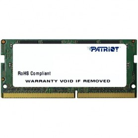 PATRIOT RAM SODIMM 8GB DDR4 2400MHZ