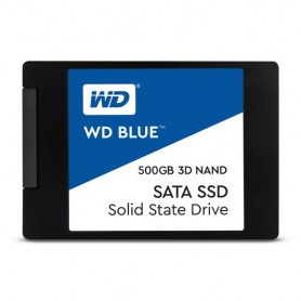 "Western Digital Blue 3D NAND SATA SSD 500GB 500GB 2.5"" Serial ATA III"