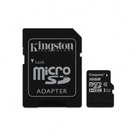 Kingston Technology Canvas Select 16GB MicroSD UHS-I Classe 10 memoria flash