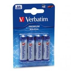 Verbatim Batterie alcaline AA