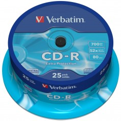 Verbatim CD-R Extra Protection CD-R 700MB 25pezzo(i)