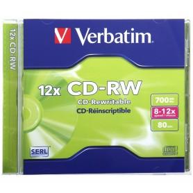 Verbatim 43147 CD-RW 700MB 1pezzo(i) CD vergine