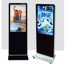 "SMARTMEDIA TOTEM 46"" FULL HD MULTITOUCH INFRARED CON PLAYER ANDROID INTEGRATO"