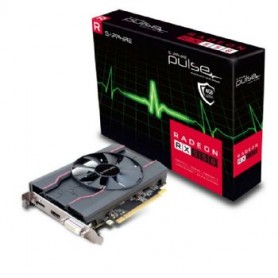 SAPPHIRE VGA PULSE RADEON RX 550 4G GDDR5 DP HDMI DVI UEFI SINGLE FAN
