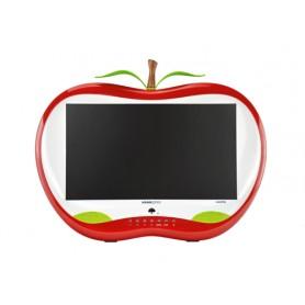 """Hannspree HA 195 HPR 18.5"""" HD TFT Opaco Rosso, Bianco Piatto monitor piatto per PC"""