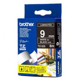Brother TZ-325 Bianco su nero TZ nastro per etichettatrice