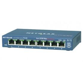 Netgear FS108-300PES Commutatore di rete non gestita L2 Fast Ethernet (10/100) Blu switch di rete