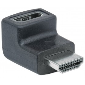 Adattatore HDMI Maschio/Femmina 90° verso il basso