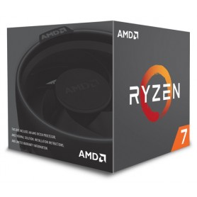 AMD CPU PINNACLE RIDGE RYZEN 7 2700X 3,70GHZ AM4 20MB CACHE 105W WRAITH PRISM COOLER
