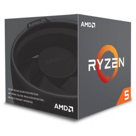 AMD CPU PINNACLE RIDGE RYZEN 5 2600 3,90GHZ AM4 19MB CACHE 65W WRAITH STEALTH COOLER