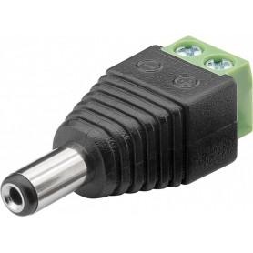 Adattatore Terminal Block 2 pin a DC Maschio (5.50 x 2.10 mm)