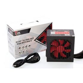 iTek DESERT 550 550W ATX Nero, Rosso alimentatore per computer