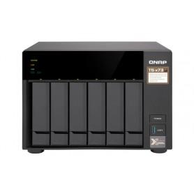 QNAP TS-673 NAS Torre Collegamento ethernet LAN Nero