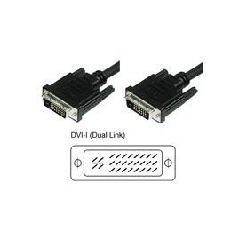 Techly Cavo Monitor DVI Analogico digitale M/M Dual Link 1,8 mt (DVI-I) (ICOC DVI-8900)