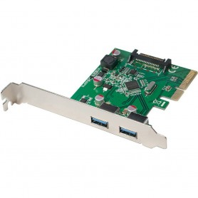 Scheda PCI Express 2 Porte USB3.1