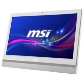 "LCD-PC MSI Pro 20T 6M-015XEU Bianco 20"" Multi-Touch PDC G4400 4GB 1TB DVD Tastiera Mouse NO SISTEMA OPERATIVO"