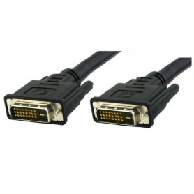 Techly Cavo Monitor DVI digitale M/M dual link 1,8 mt (DVI-D) (ICOC DVI-8100)