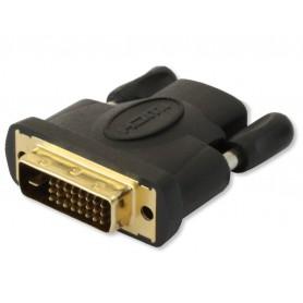 Techly Adattatore HDMI (F) a DVI-D (M) (IADAP DVI-HDMI-F)