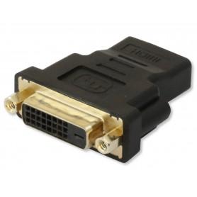 Techly Adattatore HDMI (F) a DVI-D (F) (IADAP HDMI-644)