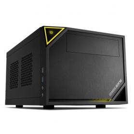 Sharkoon SHARK ZONE C10 Nero, Giallo vane portacomputer