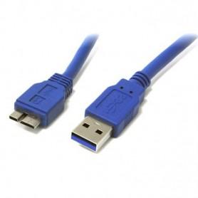 Techly Cavo USB 3.0 A maschio/MIC B maschio 0,5 m FLAT (ICOC MUSB3-FL-005)