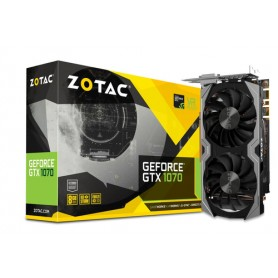 ZOTAC VGA GEFORCE GTX 1070 MINI 8GB GDDR5 3*DP HDMI DVI