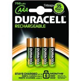 Duracell HR3-B Nichel-Metallo Idruro 750mAh 1.2V batteria ricaricabile