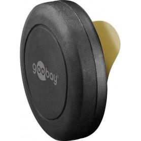 Supporto Magnetico Autoadesivo per Smartphone e Tablet Nero