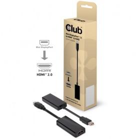 CLUB3D CAC-1170 Mini DisplayPort 1.2 HDMI 2.0 Nero cavo di interfaccia e adattatore