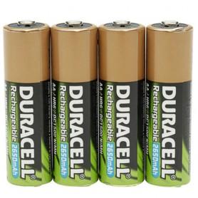 Duracell StayCharged AAA 4 Pack Nichel-Metallo Idruro (NiMH) 800mAh 1.2V batteria ricaricabile