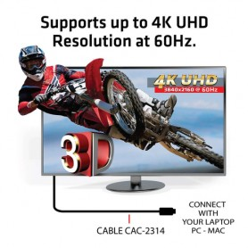CLUB3D HDMI 2.0 4K60Hz RedMere cable 15m/49.2ft
