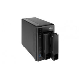 Fujitsu CELVIN NAS QE707 NAS Compatta Collegamento ethernet LAN Nero