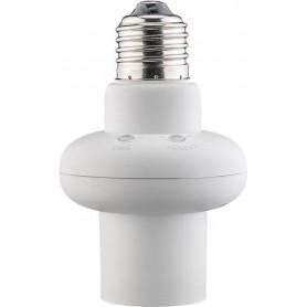 Portalampada E27 con Sensore di Movimento a Microonde e Luce