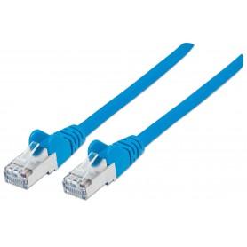 Cavo di rete Patch in rame Cat. 6A Blu SFTP 0,25 mt