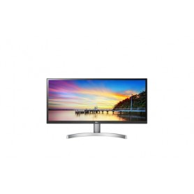 "LG 29WK600-W 29"" UltraWide Full HD LED Piatto Nero, Bianco monitor piatto per PC LED display"